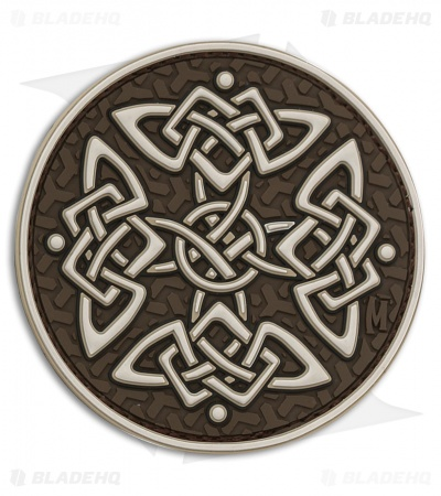 "Maxpedition 2.75"" Celtic Cross PVC Patch (Arid)"