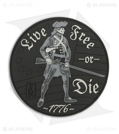 Maxpedition Live Free Or Die PVC Patch (SWAT) LFODS