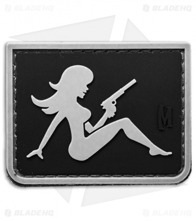 "Maxpedition 2.2"" x 1.7"" Mudflap Girl PVC Patch (SWAT)"