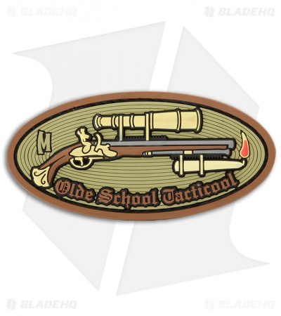 "Maxpedition 3.5"" x 1.5"" Olde School Tacticool PVC Patch (Arid)"