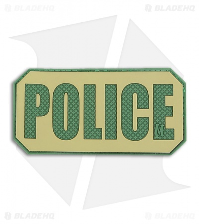 Maxpedition POLICE Identification Patch (Arid) POLDA