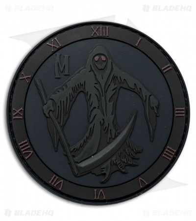 "Maxpedition 3"" x 3"" Grim Reaper Morale PVC Patch (Stealth)"