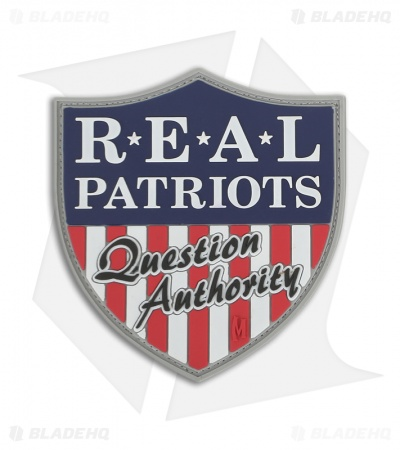 Maxpedition Real Patriots PVC Patch (Full Color) RPQAC