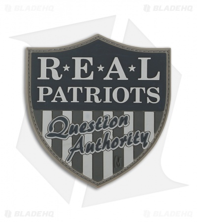 Maxpedition Real Patriots PVC Patch (SWAT) RPQAS