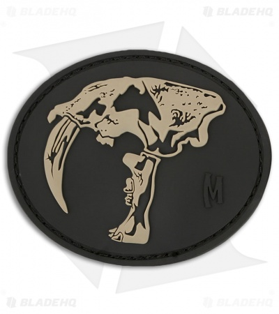 "Maxpedition 3"" x 2.5"" Sabertooth Skull PVC Patch (SWAT)"