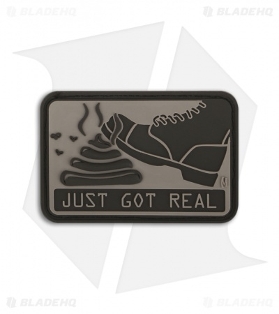 Maxpedition It Just Got Real PVC Morale Patch (ARID) SHJGA