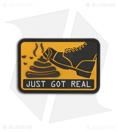 Maxpedition It Just Got Real PVC Morale Patch (FULL COLOR) SHJGC