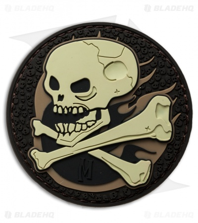 "Maxpedition 2.5"" Skull PVC Patch (Arid)"