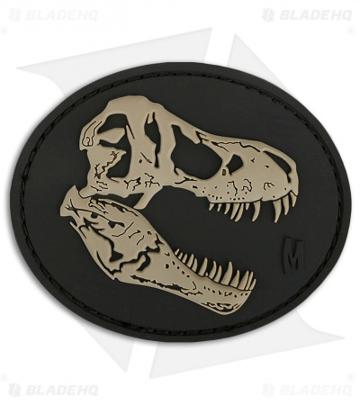 "Maxpedition 3"" x 2.5"" T-Rex Skull PCV Patch (SWAT)"