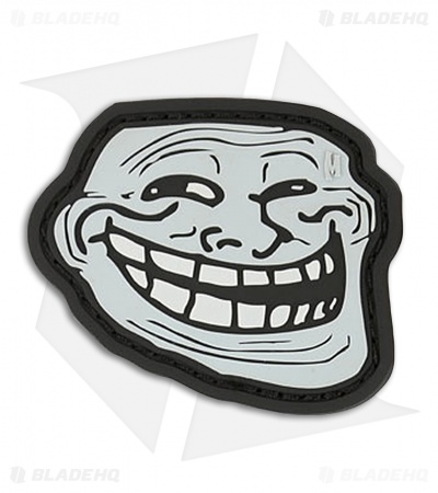 "Maxpedition 2.25"" x 1.9"" Troll Face PVC Patch (SWAT)"