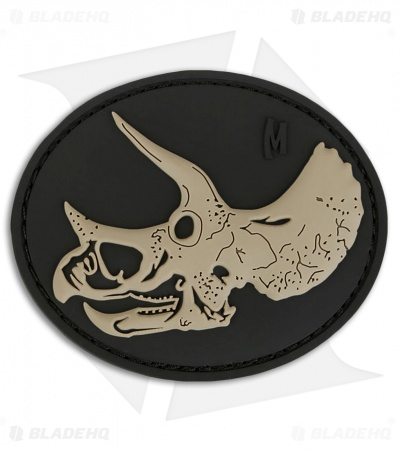"Maxpedition 3"" x 2.5"" Triceratops Skull PVC Patch (SWAT)"