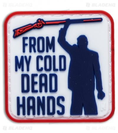 "Maxpedition 1.5"" x 1.5"" Cold Dead Hands PVC Patch (Full Color)"