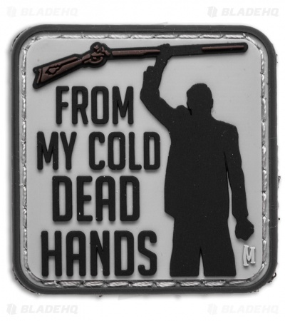 "Maxpedition 1.5"" x 1.5"" Cold Dead Hands PVC Patch (Swat)"