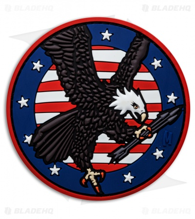"Maxpedition 3.05"" x 3.05"" American Eagle PVC Patch (Full Color)"