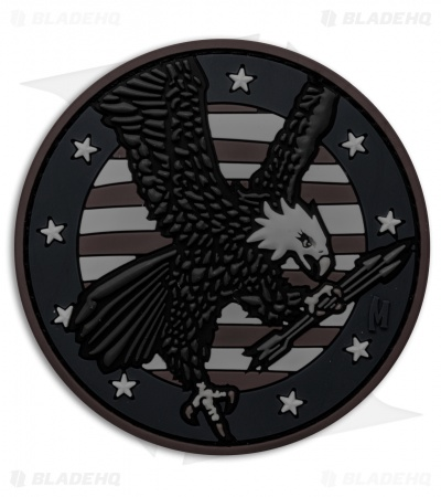 "Maxpedition 3.05"" x 3.05"" American Eagle PVC Patch (Stealth)"