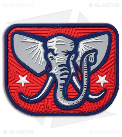 "Maxpedition 2.9"" x 2.4"" Elephant PVC Patch (Full Color)"