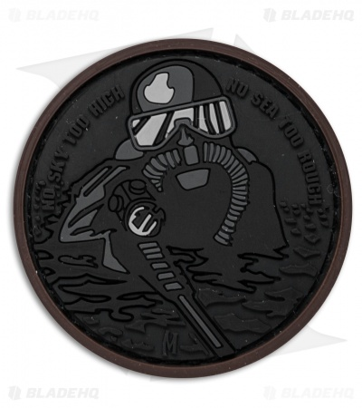 "Maxpedition 2.2"" x 2.2"" Frogman PVC Patch (Stealth)"