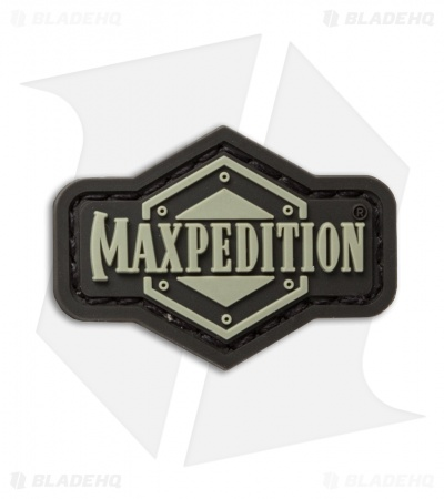 "Maxpedition 1.5"" x 1"" Inch Logo PVC Patch (Arid)"