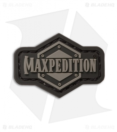 "Maxpedition 1.5"" x 1"" Inch Logo PVC Patch (SWAT)"