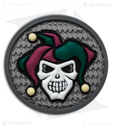 "Maxpedition 1.7"" x 1.7"" Jester PVC Patch (Full Color)"