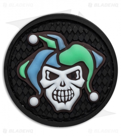 "Maxpedition 1.7"" x 1.7"" Jester PVC Patch (Glow)"
