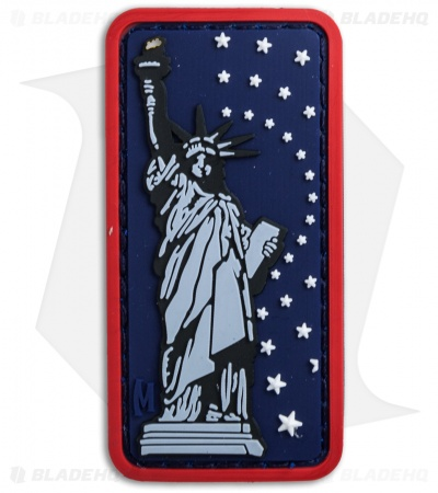 "Maxpedition 1.3"" x 2.6"" Lady Liberty PVC Patch (Full Color)"