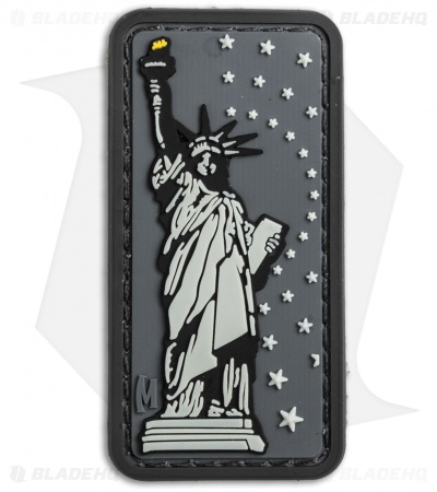 "Maxpedition 1.3"" x 2.6"" Lady Liberty PVC Patch (Swat)"