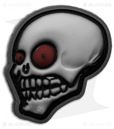 Maxpedition Look Skull Patch PVC (Stealth)