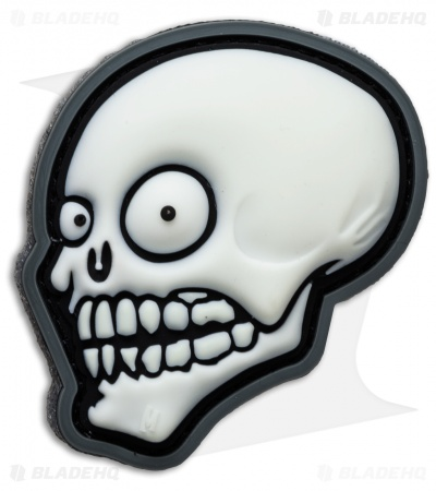 Maxpedition Look Skull Patch PVC (Glow)
