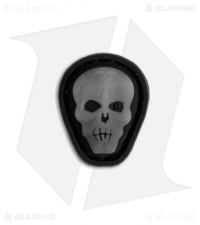 "Maxpedition 0.7"" x 0.88"" Hi Relief Skull PVC Patch (Swat)"