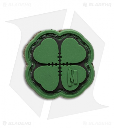 "Maxpedition 0.94"" x 0.94"" Mini Lucky Shot Clover Micropatch PVC (Full Color)"