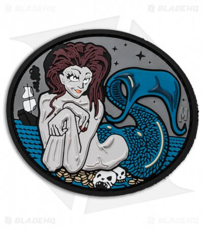 "Maxpedition 3.02"" x 2.5"" Mermaid PVC Patch (Full Color)"