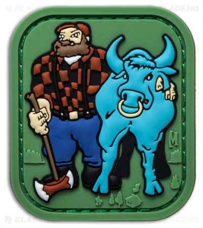 "Maxpedition 1.7"" x 2.0"" Paul Bunyan PVC Patch (Full Color)"