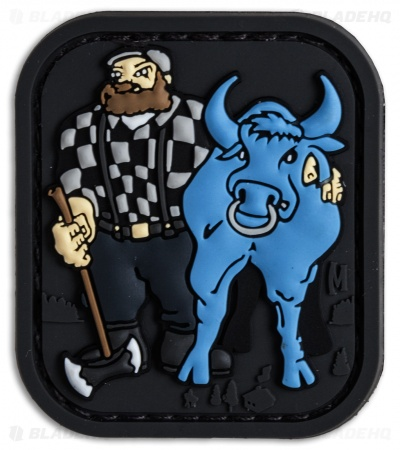 "Maxpedition 1.7"" x 2.0"" Paul Bunyan PVC Patch (Swat)"