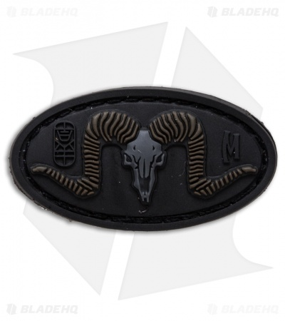 "Maxpedition 1.9"" x 1.0"" Ram PVC Patch (Stealth)"