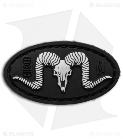 "Maxpedition 1.9"" x 1.0"" Ram PVC Patch (Glow)"