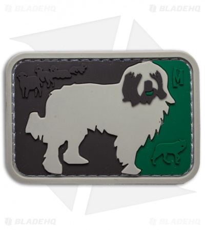 "Maxpedition 2.45"" x 1.65"" Major League Sheepdog PVC Patch (Arid)"