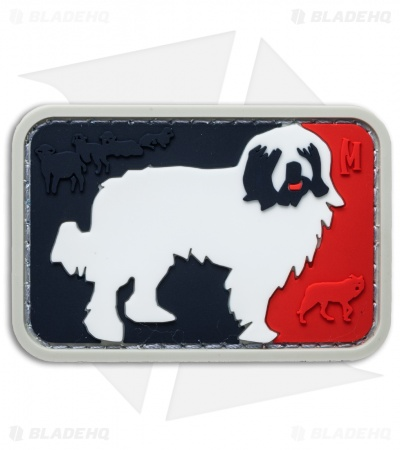 "Maxpedition 2.45"" x 1.65"" Major League Sheepdog PVC Patch (Full Color)"