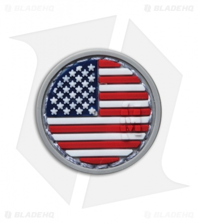 "Maxpedition 0.98"" x 0.98"" US Flag Micropatch PVC (Full Color)"