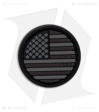 "Maxpedition 0.98"" x 0.98"" US Flag Micropatch PVC (Stealth)"