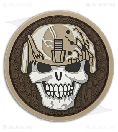 "Maxpedition 2"" Soldier Skull PVC Patch (Arid)"