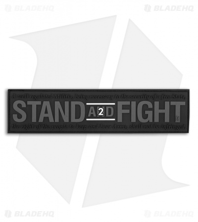 Maxpedition Stand and Fight 2nd Amendment Support PVC Patch (SWAT) STFTS