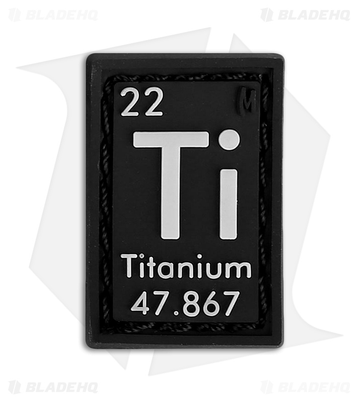 Maxpedition 068 X 1 Titanium Element 22 Pvc Patch Glow Blade Hq