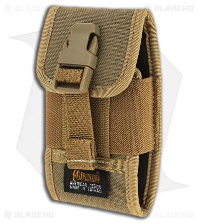Maxpedition Vertical Smart Phone Holster Khaki PT1022K