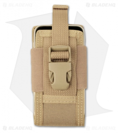 "Maxpedition 5"" Clip-On Phone Holster Khaki Pouch 0110K"