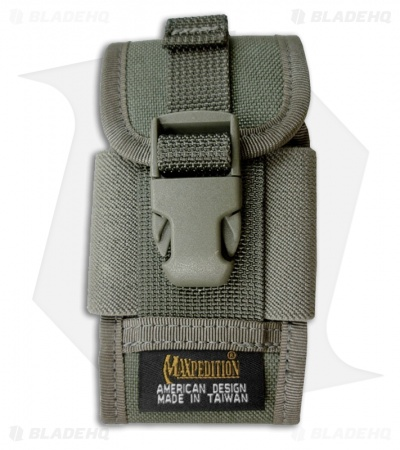 Maxpedition Clip-On Phone Holster Foliage Green Pouch 0112F