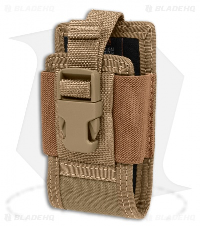 "Maxpedition 4.5"" Clip-On Phone Holster Khaki Pouch 0109K"