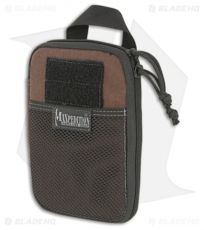 Maxpedition E.D.C. Pocket Organizer Dark Brown Utility Pouch Bag 0246BR