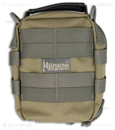 Maxpedition FR-1 Khaki/Foliage Utility Pouch First Aid Bag 0226KF