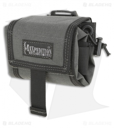 Maxpedition Mega RollyPoly Folding Dump Pouch Wolf Gray 0209W